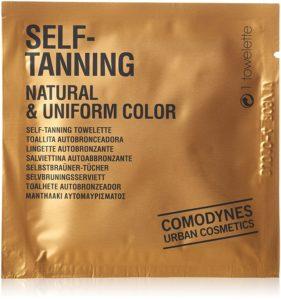 Comodynes Selbstbräunungstücher Natural & Uniform Color, 8er Pack PLATZ 4