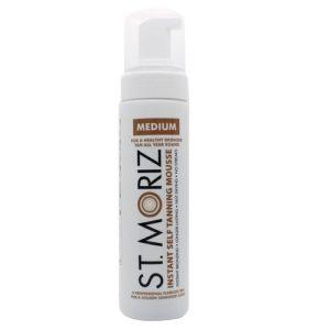 St. Moriz Self Tanning Mousse Medium, 1er Pack (1 x 200 ml) PLATZ 2